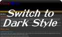 Switch to Dark Style